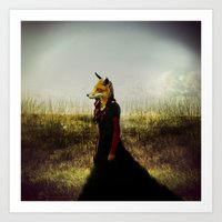 Eyes On The Prize | Fox … Art Print