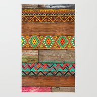 Rug featuring Indian Wood by Diego Tirigall