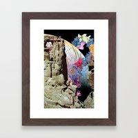 flowerbomb Framed Art Print