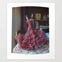 spanish dream Art Print