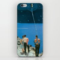 Space Tether iPhone & iPod Skin
