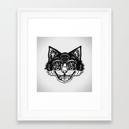 The Creative Cat Framed Art Print