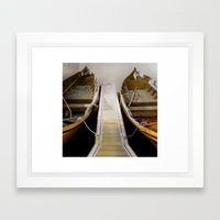 Side By Side- In The Sha… Framed Art Print