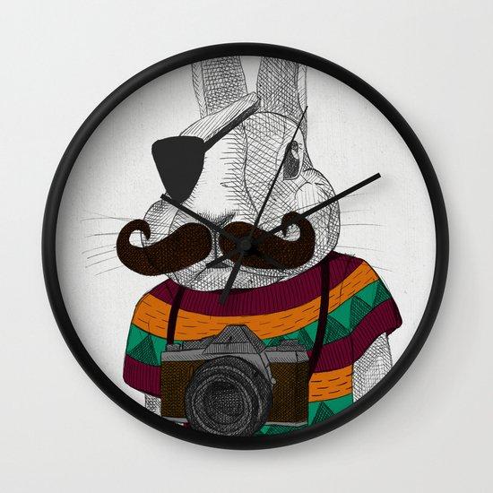 wabbit Wall Clock