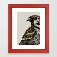Berlin Sparrow Framed Art Print