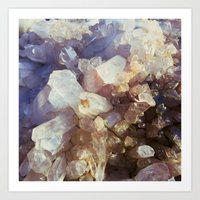 Crystal Magic Art Print