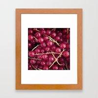 Berry Berry Framed Art Print