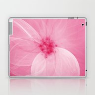 Pink Fairy Blossom Fract… Laptop & iPad Skin