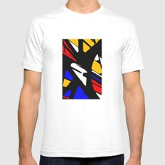 Speed SMALL Mens Fitted Tee White