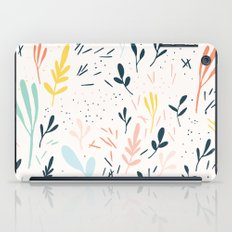 Plants and spikes iPad Case