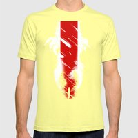 The Effect (Reaped) Mens Fitted Tee Lemon SMALL