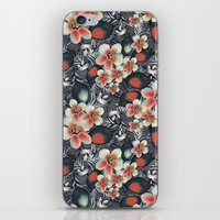 exotic floral iPhone & iPod Skin