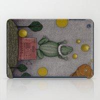 Frogking (2) iPad Case