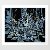 These Colors Don't Shadowrun Art Print