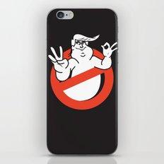 Trumpbusters:He ain't afraid of no ghost iPhone & iPod Skin