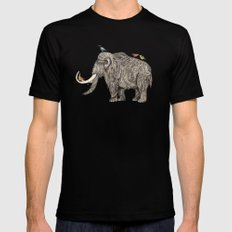 TUSK Mens Fitted Tee Black SMALL