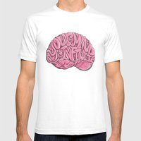 Your Mind Is Infinite Mens Fitted Tee White SMALL