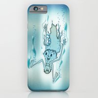 Blue Turquoise iPhone 6 Slim Case