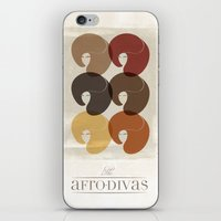 The Afro Divas iPhone & iPod Skin