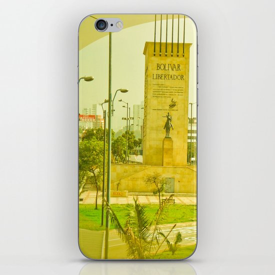 "COLOMBIA BOGOTA CITY ""THE HEROES"". iPhone & iPod Skin"