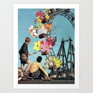 Art Print featuring Bloomed Joyride by Eugenia Loli