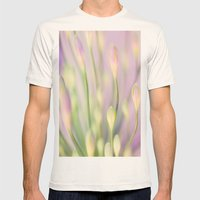 Lavender Nile Mens Fitted Tee Natural SMALL