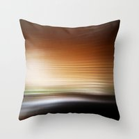 Beyond The Horizon II Throw Pillow