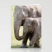 Elephant love Stationery Cards