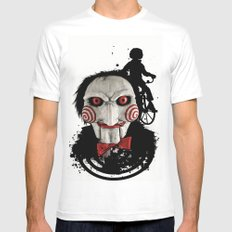 Billy The Puppet: Monster Madness Series Mens Fitted Tee SMALL White
