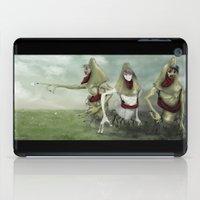 3 Lurkers  iPad Case