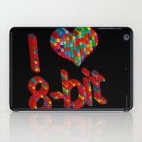 i heart 8-bit iPad Case