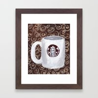 Coffee Time III Framed Art Print