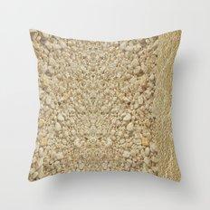 Ocean and Gold ii Throw Pillow