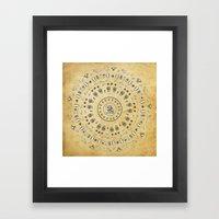 Spirit Mandala Framed Art Print