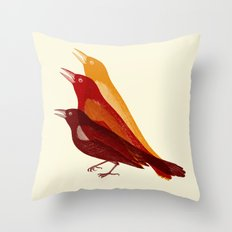 bad tweet Throw Pillow