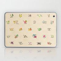 Las Frutas y Verduras de Latinoamerica Laptop & iPad Skin