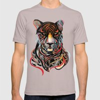 Tiger Mens Fitted Tee Cinder SMALL