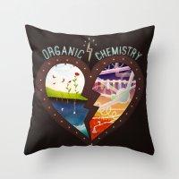 Organic Chemistry Throw Pillow