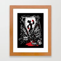 Eat Your Spinach! Framed Art Print