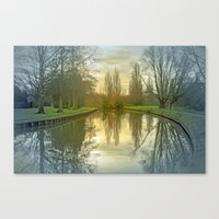 TREE-FLECTED Canvas Print