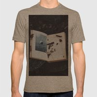 Book of the Stars Mens Fitted Tee Tri-Coffee SMALL