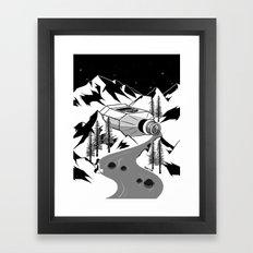 Whisky River Framed Art Print