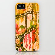Flowers And Chains iPhone (5, 5s) Slim Case