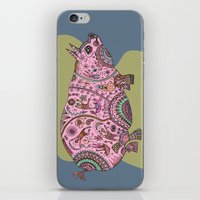 BigFat Pink Pig iPhone & iPod Skin