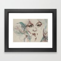 poseidon's lover Framed Art Print