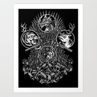 Game Of Thrones - Miles … Art Print