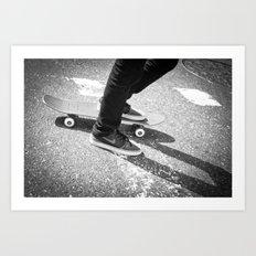 Wheeled Transport Art Print