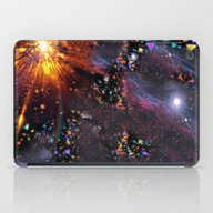 Triangles Space iPad Case