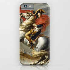 Napoleon Crossing the Alps by Jacques Louis David iPhone 6s Slim Case