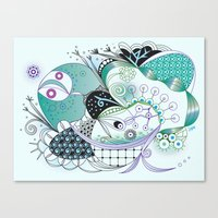 Winter tangle Canvas Print
